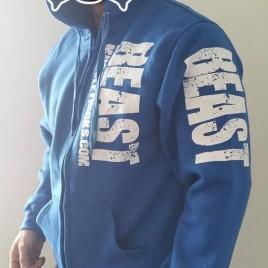 BLUE BEAST HOODY LRG