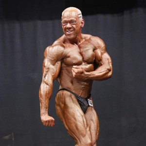 Steve Johnson NABBA muscle tricks sponsored athlete