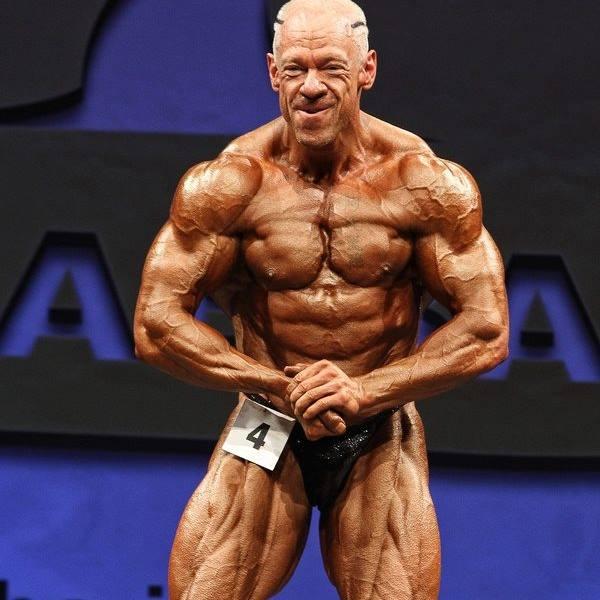Steve Johnson NABBA muscle tricks sponsored athlete