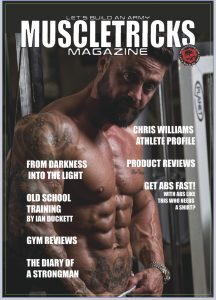 muscletricks magazine, issue 3 featuring Mick Stocks on the front cover this issue.