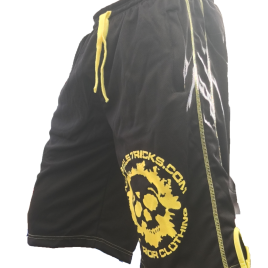 Black/yellow shorts xxl.
