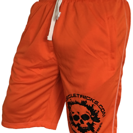 Orange shorts xl