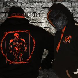 Anatomy hoody Orange design