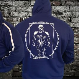 Anatomy Blue hoody